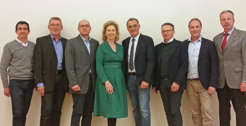 Der Vorstand des Niederösterreichischen Golfverbands 2019